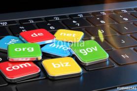 3d Tastatur mit Domainkrzel